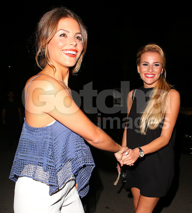 TOWIE stars Georgia Kousoulou and Chloe Lewis attend the Cavalli Club VIP Launch party in Puerto Banus, Marbella. Spain. 30/05/2015<br />BYLINE MUST READ : JAMESY/GOTCHA IMAGES<br /><br />Copyright by &copy; Gotcha Images Ltd. All rights reserved.<br />Usage of this image is conditional upon the acceptance <br />of Gotcha Images Ltd, terms and conditions available at<br />www.gotchaimages.com