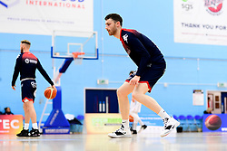Josh Rogers of Bristol Flyers warms up prior to tip off - Photo mandatory by-line: Ryan Hiscott/JMP - 17/01/2020 - BASKETBALL - SGS Wise Arena - Bristol, England - Bristol Flyers v London City Royals - British Basketball League Championship