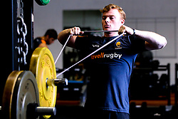 Gareth Simpson of Worcester Warriors during preseason training ahead of the 2019/20 Gallagher Premiership Rugby season - Mandatory by-line: Robbie Stephenson/JMP - 06/08/2019 - RUGBY - Sixways Stadium - Worcester, England - Worcester Warriors Preseason Training 2019