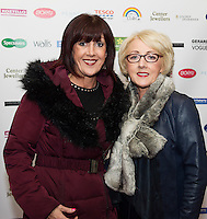 13/11/2015 Repro free:   Sharon Joyce New Avenue and Sally Keeler Knocknacarra at Galway Glamour  by Galway Shopping Centre at the g Hotel hosted by Sile Seoige  <br /> Photo:Andrew Downes, xposure.
