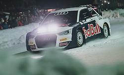 01.02.2020, Flugplatz, Zell am See, AUT, GP Ice Race, im Bild Marcel Hirscher im Audi RX S1 // Marcel Hirscher drives a Audi RX S1 during the GP Ice Race at the Airfield, Zell am See, Austria on 2020/02/01. EXPA Pictures © 2020, PhotoCredit: EXPA/ JFK