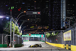 September 14, 2018 - Singapore, Singapore - Motorsports: FIA Formula One World Championship 2018, Grand Prix of Singapore, .#55 Carlos Sainz jr. (ESP, Renault Sport Formula One Team) (Credit Image: © Hoch Zwei via ZUMA Wire)