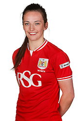 Chloe Arthur of Bristol City Women poses for a headshot - Mandatory byline: Rogan Thomson/JMP - 21/02/2016 - FOOTBALL - Stoke Gifford Stadium - Bristol, England - Bristol City Women Team Photos.
