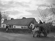 30/03/1957<br /> 03/30/1957<br /> 30 March 1957<br /> <br /> Horse and Cart in Roscrea