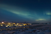 Norther Lights over Ilulissat, Greenland