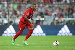 04.08.2015, Allianz Arena, Muenchen, GER, AUDI CUP, Real Madrid vs Tottenham Hotspur, im Bild Jerome Boateng (FC Bayern Muenchen #17) // during the 2015 AUDI Cup Match between Real Madrid CF and Tottenham Hotspur at the Allianz Arena in Muenchen, Germany on 2015/08/04. EXPA Pictures &copy; 2015, PhotoCredit: EXPA/ Eibner-Pressefoto/ Sch&uuml;ler<br /> <br /> *****ATTENTION - OUT of GER*****