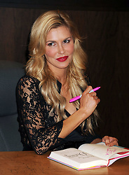 TV personality Brandi Glanville poses at her book signing For 'Drinking & Dating' at Barnes & Noble bookstore at The Grove in Los Angeles, California, Wednesday, 19th February 2014. Picture by Nils Jorgensen / i-Images
