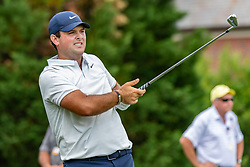 May 4, 2019 - Charlotte, NC, U.S. - CHARLOTTE, NC - MAY 04: Patrick Reed hits from the 4th hole tee box during the third round of the Wells Fargo Championship at Quail Hollow on May 4, 2019 in Charlotte, NC. (Photo by William Howard/Icon Sportswire) (Credit Image: © William Howard/Icon SMI via ZUMA Press)