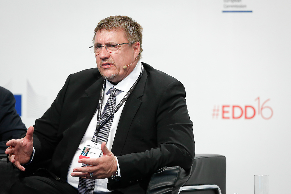 20160615 - Brussels , Belgium - 2016 June 15th - European Development Days - Towards a circular economy for sustainable consumption and production - Hermann Erdmann , CEO , REDISA © European Union