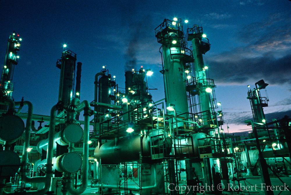 MEXICO, INDUSTRY oil refinery in Salina Cruz, Pacific Coast