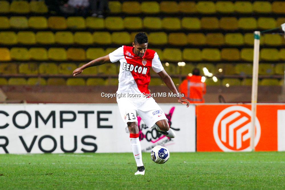 WALLACE  - 14.01.2015 - Monaco / Guingamp - 1/4Finale Coupe de la Ligue<br /> Photo : Jean Christophe Magnenet / Icon Sport
