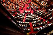 Senato della Repubblica durante la discussione generale per la fiducia al Governo Conte bis. Roma 10 Settembre 2019. Christian Mantuano / OneShot