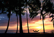 Sunset, Wailea, Maui, Hawaii, USA<br />