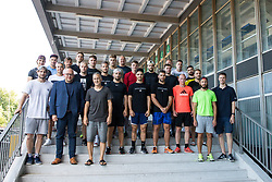 Players during arrival of athletes of HK SZ Olimpija before Season 2019/20, on July 29, 2019 in Hala Tivoli, Ljubljana, Slovenia. Photo by Matic Klansek Velej / Sportida