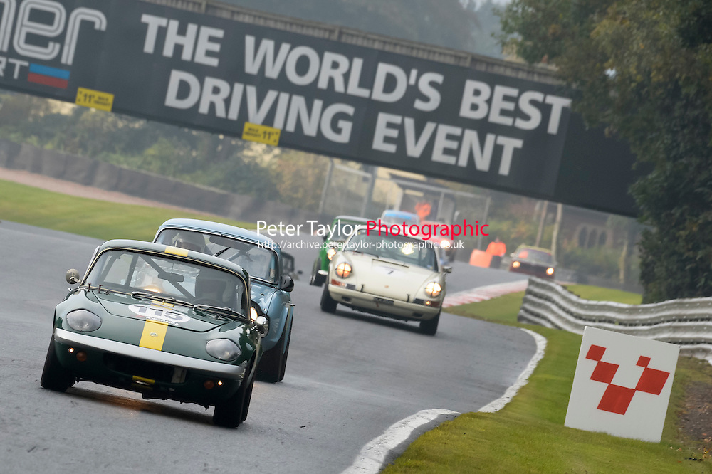 #115 Donald Laird Lotus Elan 1600 during the CSCC Adams and Page Swinging Sixties at Oulton Park, Little Budworth, Cheshire, United Kingdom. October 15 2016. World Copyright Peter Taylor/PSP. <br /> Copy of publication required for printed pictures.  Every used picture is fee-liable. http://archive.petertaylor-photographic.co.uk