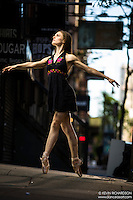Dance As Art The New York City Photography Project Lower East Side Series with dancer Jenna MacVicar