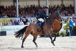 NIEBERG Lars (GER), Foster<br /> Hagen - Horses and Dreams meets the Royal Kingdom of Jordan 2018<br /> Grosser Preis der DKB Qualifikation DKB-Riders Tour<br /> 30 April 2018<br /> www.sportfotos-lafrentz.de/Stefan Lafrentz