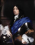 Charles X Gustav {1622 – 1660) King of Sweden 1654 1660. painted by Sébastien Bourdon (1616–1671)