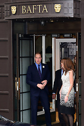 The Duke of Cambridge at BAFTA in  London where he launched new campaign to help young people, Monday, 18th November 2013. Picture by Nils Jorgensen / i-Images