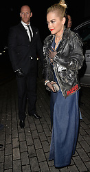 Rita Ora attends the launch of the Rockins For Eyeko collection at The Scotch of St James in London, UK. 25/11/2014<br />BYLINE MUST READ : GOTCHAIMAGES.COM<br /><br />Copyright by © Gotcha Images Ltd. All rights reserved.<br />Usage of this image is conditional upon the acceptance <br />of Gotcha Images Ltd, terms and conditions available at<br />www.gotchaimages.com