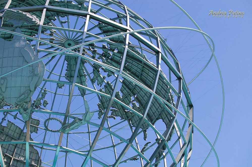 Steel Globe, Corona Park, Queens