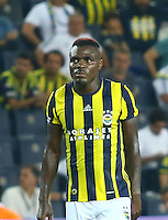 UEFA Europa league Playoff first leg match between Fenerbahce and Grasshoppers at Ulker Stadium in Istanbul on August 18 , 2016.<br /> Final Score : Fenerbahce 3 - Grasshoppers 0<br /> Pictured: Emmanuel Emenike of Fenerbahce .