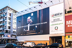 January 2, 2018 - Milan, Italy - New Italian advertising against HIV/AIDS appears in Corso Buenos Aires. (Credit Image: © Mairo Cinquetti/Pacific Press via ZUMA Wire)