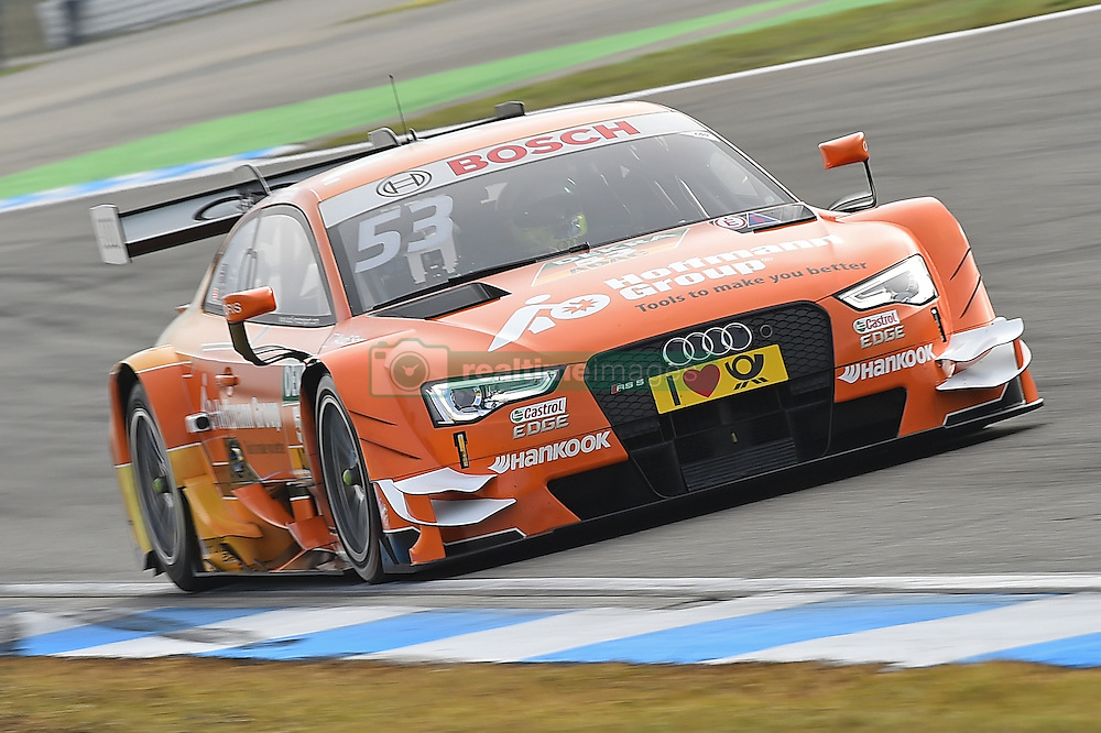 Jamie Green (Audi Sport Team Rosberg)  beim DTM Saisonfinale in Hockenheim<br /> <br />  / 161016<br /> <br /> ***German Touring Car Championship in Hockenheim, Germany, October 16, 2016 ***