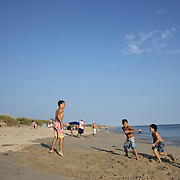 A beach scene at Madaket Beach, Nantucket, Nantucket Island, Massachusetts, USA. Photo Tim Clayton