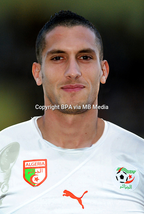 Football Fifa Brazil 2014 World Cup / <br /> Algeria National Team - <br /> Ismael Mickael Bouzid of Algeria
