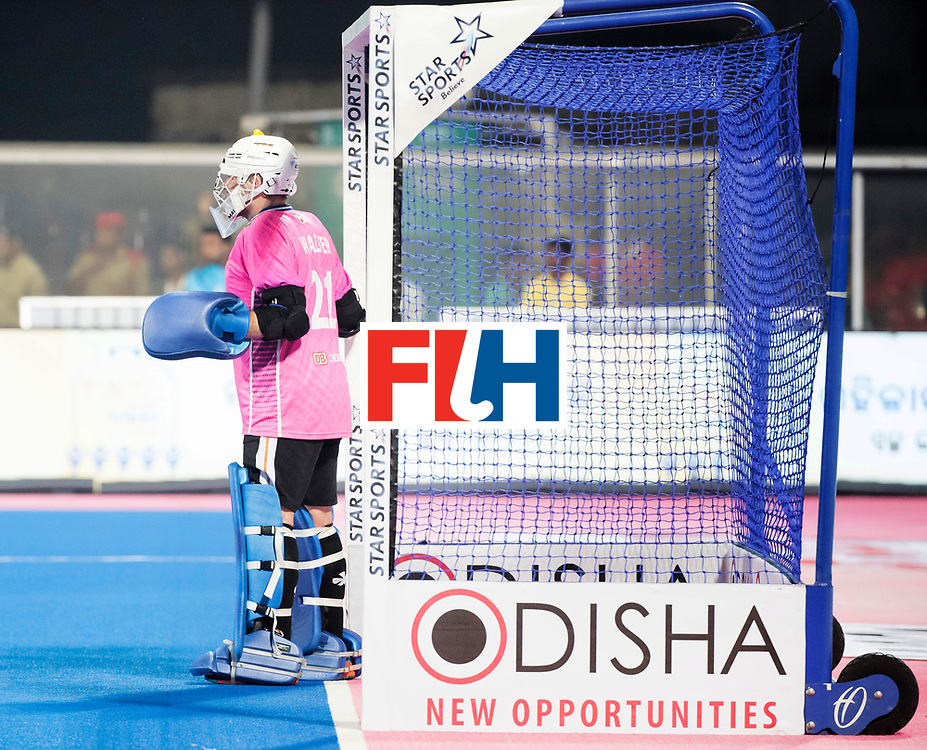 BHUBANESWAR - The Odisha Men's Hockey World League Final . Match ID 01 . Germany v England (2-0). keeper Tobias Walter (Ger)  WORLDSPORTPICS COPYRIGHT  KOEN SUYK