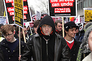 Student protest against cuts and fees 29/1/2011