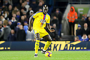 Crystal Palace #12 Mamadou Sakho during the Premier League match between Brighton and Hove Albion and Crystal Palace at the American Express Community Stadium, Brighton and Hove, England on 4 December 2018.