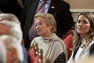Rionero in V. (PZ) 03/10/2009 Italy - Il Presidente della Repubblica Giorgio Napolitano in visita nella casa natale di Giustino Fortunato. Nella Foto: La moglie di Giorgio Napolitano.