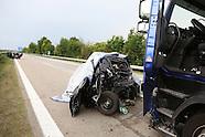 Unfall A6 mit Todesfolge