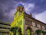 27 MARCH 2016 - BANGKOK, THAILAND:  Santa Cruz Church in Bangkok on Easter Sunday. Santa Cruz was one of the first Catholic churches established in Bangkok. It was built in the late 1700s by Portuguese soldiers allied with King Taksin the Great in his battles against the Burmese who invaded Thailand (then Siam). There are about 300,000 Catholics in Thailand, in 10 dioceses with 436 parishes. Easter marks the resurrection of Jesus after his crucifixion and is celebrated in Christian communities around the world.      PHOTO BY JACK KURTZ