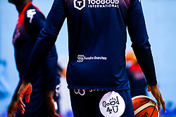 Warm up top sponsors - Rogan/JMP - 11/10/2019 - BASKETBALL - SGS Wise Arena - Bristol, England - Bristol Flyers v Plymouth Raiders - BBL Cup.