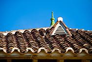 Rooftop of Hotel Villa Camilla in Pedasi, Panama.