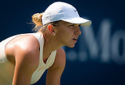 Simona Halep of Romania in action during the first round of the 2018 US Open Grand Slam tennis tournament, New York, USA, August 27th 2018, Photo Rob Prange / SpainProSportsImages / DPPI / ProSportsImages / DPPI