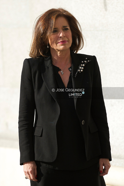 Ana Botella attend Solemn Mass honoring and remembering the victims of the 10th annivrsary of the terrorist attacks of March 11, 2004 at Almudena Cathedral on March 11, 2014 in Madrid