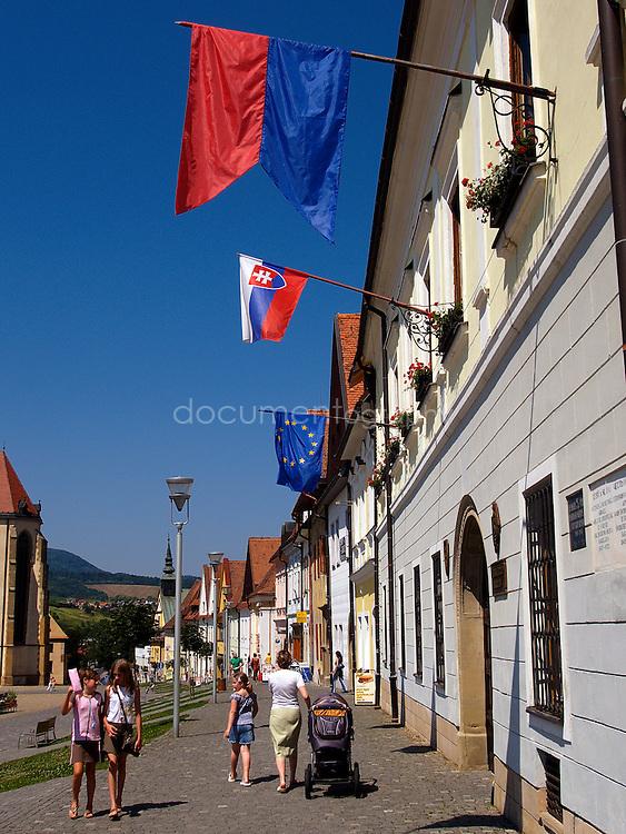 Bardejov, East Slovakia.