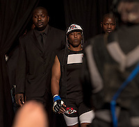 JOHANNESBURG, SOUTH AFRICA - MAY 13:  Jeff Madiba during EFC 49 Fight Night at the Big Top Arena, Carnival City, Johannesburg, South Africa on May 13, 2016. (Photo by Anton Geyser/ EFC Worldwide)