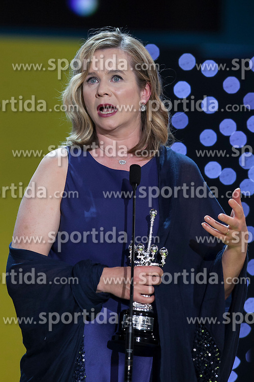 25.09.2015, Madrid, San Sebastian, ESP, San Sebastian International Film Festival, im Bild British actress Emily Watson receives the 2015 Donostia Award during the official ceremony // at 63rd Donostia Zinemaldia, San Sebastian International Film Festival in Madrid in San Sebastian, Spain on 2015/09/25. EXPA Pictures &copy; 2015, PhotoCredit: EXPA/ Alterphotos/ Victor Blanco<br /> <br /> *****ATTENTION - OUT of ESP, SUI*****