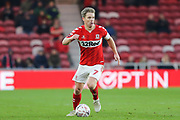 Middlesbrough midfielder Grant Leadbitter (7) in action during The FA Cup 3rd round match between Middlesbrough and Peterborough United at the Riverside Stadium, Middlesbrough, England on 5 January 2019.