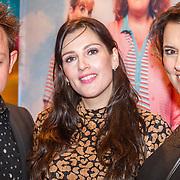 NLD/Amsterdam/20151124 - Premiere Hallo Bungalow, Rop Verheijen, Tina de Bruin en Suzan Visser