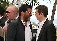 James Caan, Producer Alain Attal and Director Guillaume Canet. at the Blood Ties film photocall at the Cannes Film Festival Monday 20th May 2013
