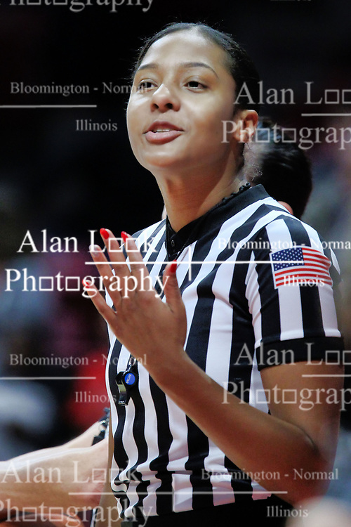 NORMAL, IL - January 06:  Kayla Maxey during a college women's basketball game between the ISU Redbirds and the Drake Bulldogs on January 06 2019 at Redbird Arena in Normal, IL. (Photo by Alan Look)