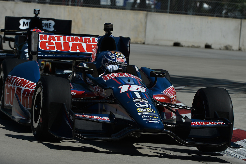 Graham Rahal, The Raceway at Belle Isle Park, Detroit, MI USA 6/1/2014