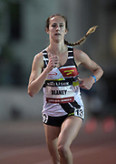 May 17, 2018; Los Angeles, CA, USA; Anne-Marie Blaney places ninth in the women's 5,000m in 15:54.35 during the USATF Distance Classic at Occidental College.
