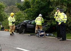 A serious RTC involving two vehicles has closed the A85 eight miles east of Oban between Connel and Taynuilt.Police Scotland expect the road to be closed for a considerable time.......... <br /> (c) Stephen Lawson | Edinburgh Elite media